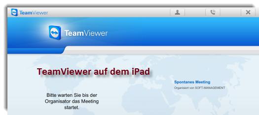 Teamviewer: Online-Meetings auf iPad und Adroid-Tablets
