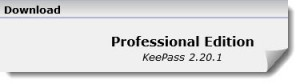Der Download von Keepass