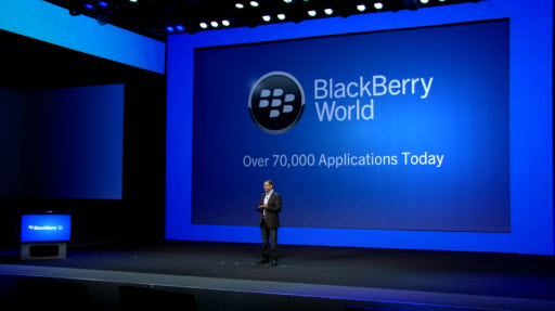 Die neue Blackberry AppWorld