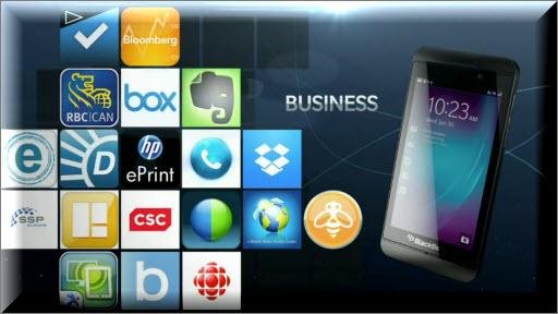 Blackberry: Business Apps