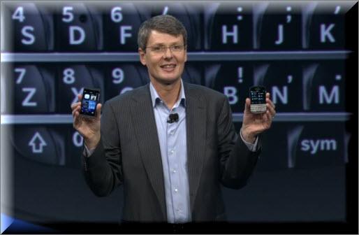 Heins präsentiert die neue Blackberry-Generation