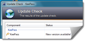 Keepass Update