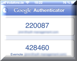 Der Google-Authenticator