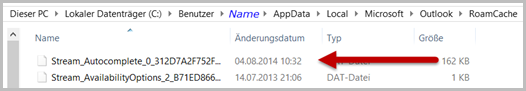 Streaming-Datei ersetzt das NK2-File
