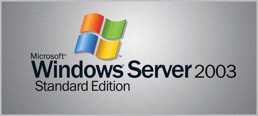 Das war's: Server 2003