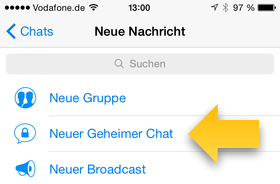 Telegram: Der geheime Chat