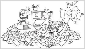 Clutter und die E-Mail-Flut