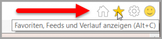 Favoriten im Internet Explorer