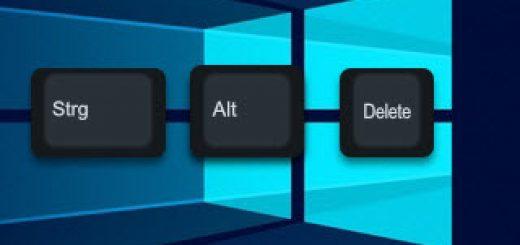 Strg-Alt-Entf unter Windows 10